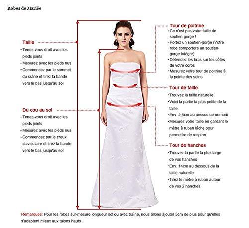 Giacca Sposa Formali Per Ginocchio Con Della Le Veste Nozze La Chiffon Madre Rosa Dressvip Di Al t68Bw