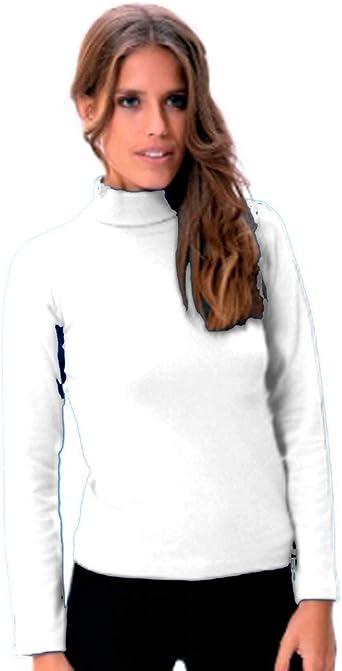 LARA - Camiseta Mujer Cuello Cisne Mujer: Amazon.es: Ropa y accesorios
