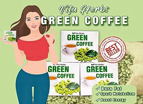 Amazon Com Vita Herbs Green Coffee 10 Sachets 100 Organic Caffeine Free Sugar Free Gluten Free Grocery Gourmet Food