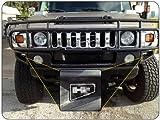 2003-09 Hummer H2 Front Bumper End Logo