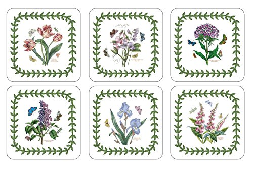 Portmeirion Coasters - Portmeirion Botanic Garden Coasters, Set of 6