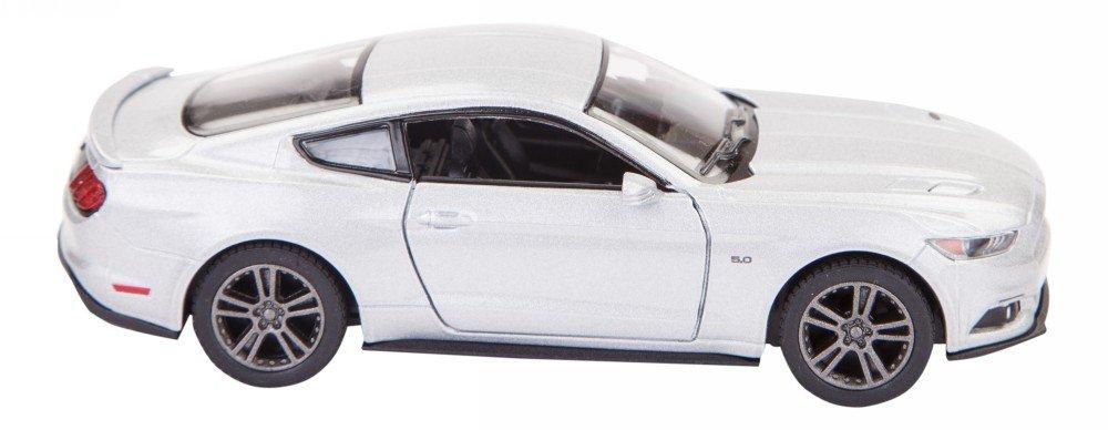 Blue Ford Mustang GT 2015 Mod/èle De Voiture Moul/é sous Pression en M/étal /Échelle 01:36 Ouverture Portes D/étaill/ées D/étail Int/érieur Action Mod/èle De Welly