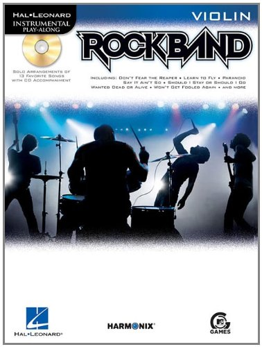 Rock Band: Violin (Hal Leonard Instrumental (Rock Bands Violin)