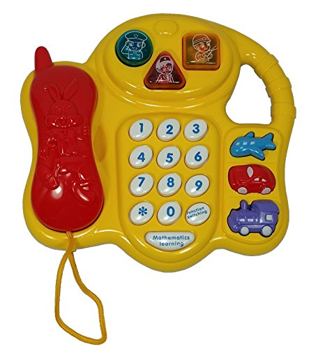Educational Stimulus Telephone and Teaching Skills with Sound and Music for Kids Baby Toys Gift (Music Education Toys)