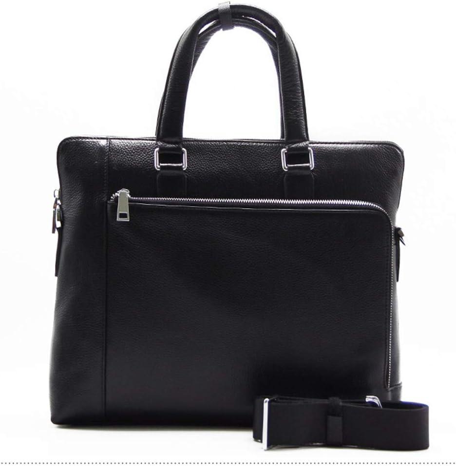 GAOCAN-BG Convenient Mens Handbag Diagonal Business Casual Cross Section Shoulder Suede Leather Briefcase Male Travel Bag