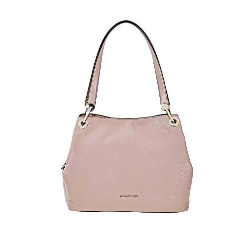 642bddef5682 Michael Kors Raven Large Leather Shoulder Bag - Fawn: Amazon.co.uk: Shoes &  Bags