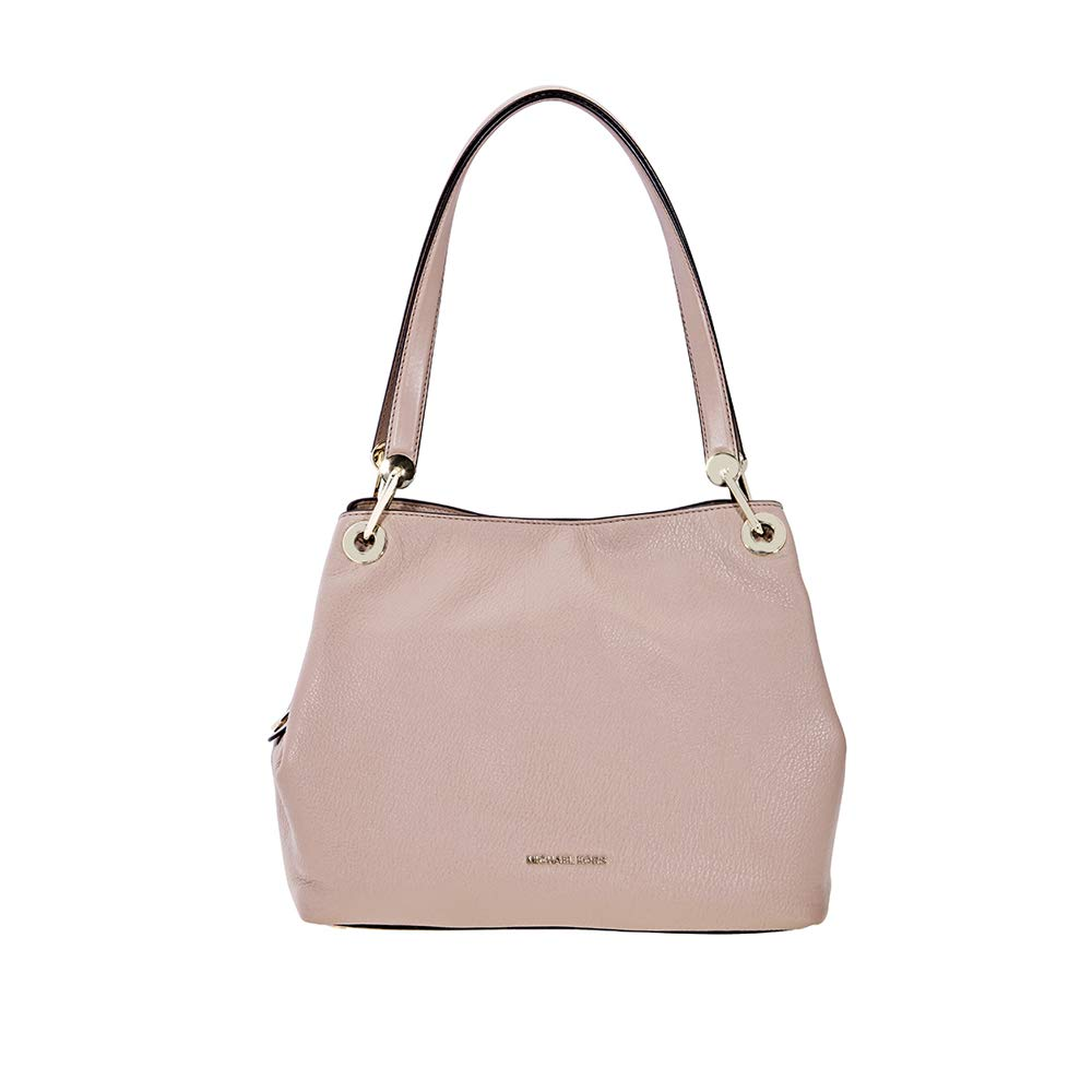 Michael Kors Raven Large Leather Shoulder Bag - Fawn