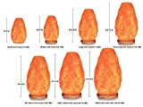 Himalayan Glow 1002 large Salt lamp, ETL Listed Himalayan Salt lamp, 8-11 lbs by WBM Variant Image