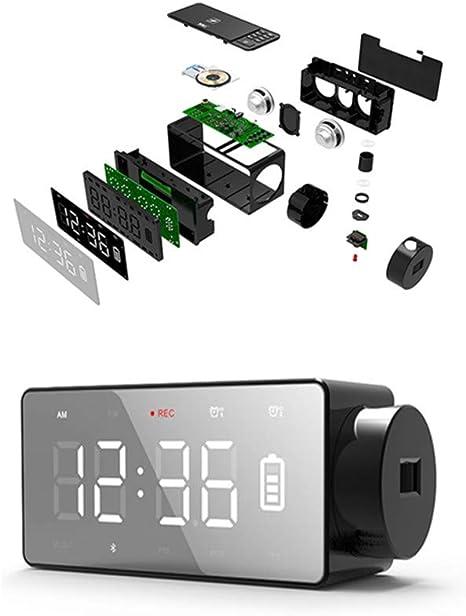 Altavoz Bluetooth Dos Despertador Radio FM Antena Construido ...