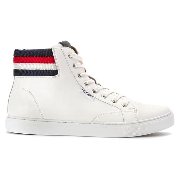 Amazon.com   Tommy Hilfiger Men's Mill Fashion Sneaker, White, 11.5 M US    Fashion Sneakers