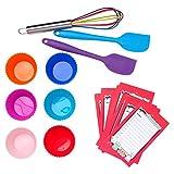 Kids Cupcake Kit / 15 Pieces / Colorful Gift Box