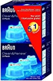 Braun Clean & Charge Cleaning