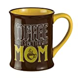 "Best Grasslands Road Mom Cups - ""Coffee Tastes Better with Mom"" Coffee Cup Mug Review"