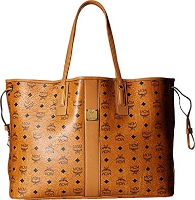 mcm women 39 s liz large shopper cognac handbag handbags. Black Bedroom Furniture Sets. Home Design Ideas