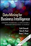 img - for Data Mining for Business Intelligence: Concepts, Techniques, and Applications in Microsoft Office Excel with XLMiner by Galit Shmueli (2010-10-26) book / textbook / text book