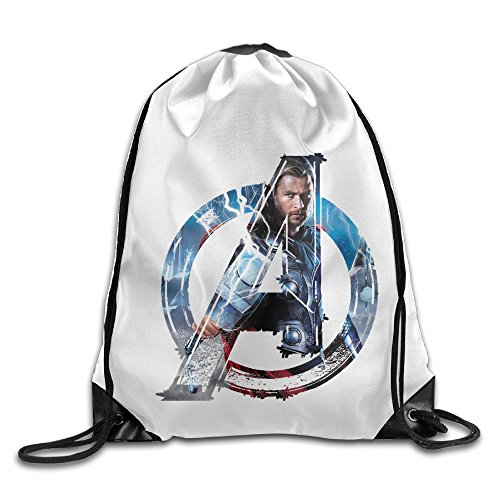 Thor Costume Design (Bekey The Avengers2 Chris Hemsworth Thor Drawstring Backpack Sport Bag For Men & Women For Home Travel Storage Use Gym Traveling Shopping Sport Yoga Running)