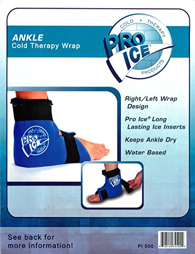 Ankle/Foot Ice Therapy Wrap – Perfect for Sprained Ankles, Plantar Fasciitis, Achilles tendonitis, and Swelling Feet - Ice Packs Included by PRO ICE COLD THERAPY PRODUCTS (Image #8)