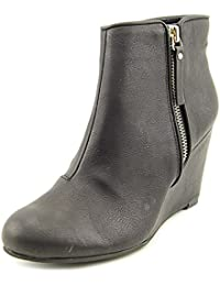 Womens Bold Move Closed Toe Ankle Platform Boots