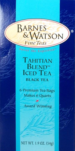Tahitian Blend Iced Tea (6 One-Quart Teabags) (Tea Iced Blend)