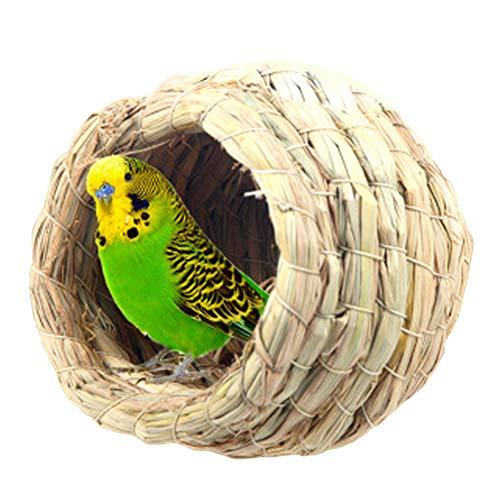 - Pet Bird Bird House Bird Nest Parakeet Budgie Cockatiel Finch Sparrows Breeding Nesting Bird Aviary Cage Box Anti-Pecking Bite
