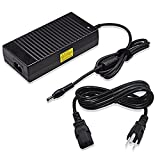 ac adapter 170w 20v - Delippo 20V 8.5A 170W Laptop Replacement AC Adapter Charger Compatiable with Lenovo W530 W520 T520 with Power Supply Adapter Cord