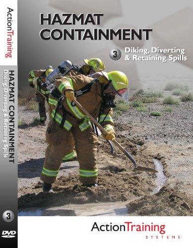 - Hazardous Materials: Diking, Diverting & Retaining Spills, Firefighter Training DVD