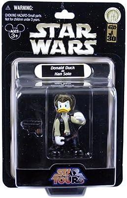 Star Tours Wars Donald as Han Solo Disney Figure
