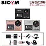 SJCAM SJ6 Legend 2 inches Touch Screen Remote Action Helmet Sports DV Camera Waterproof 4K 1080P 24FPS Action Camera(3 colors to choose) SJCAM