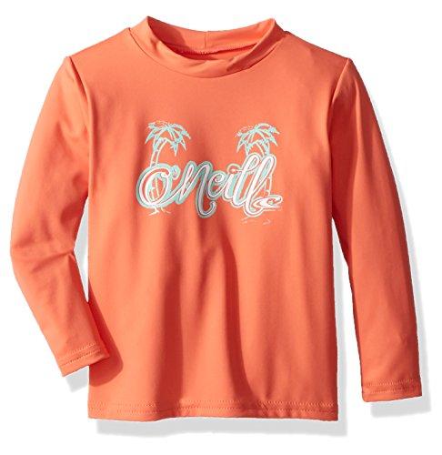 ium Skins UPF 50+ Long Sleeve Sun Shirt, Coral, 4 ()