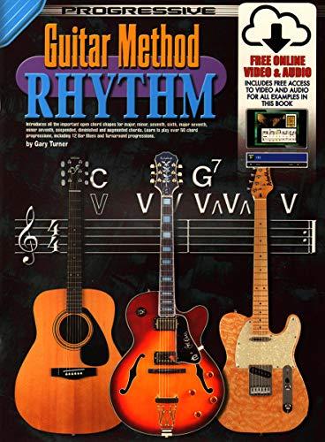 Guitar Method Rhythm: Book and CD Set (Progressive Guitar Method) (Progressive Guitar Method)