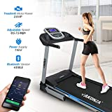 Product review for Akonza Heavy Duty Foldable LCD Display Power Electric Running Fitness Treadmill w/ MP3 Phone and 2 Cup Holders