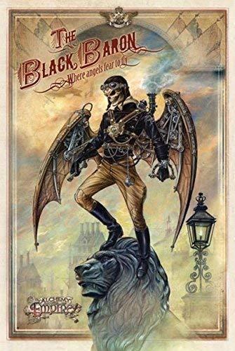 The Black Baron, where angels miedo a la bragueta Steam Punk en ...