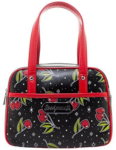 Sourpuss Love Cherries Mini Bowler ()