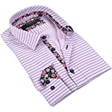 Coogi Luxe Men's 100% Cotton Casual Fit Dress Shirt (More Styles Available)