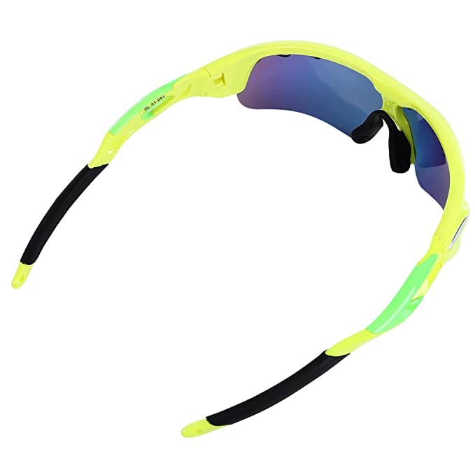 5261d78b20 Buy Zorbes Wildcycle Polarized Bike Cycling Glasses Eyewear Unisex Revo  Running Sport Sunglasses with 5 Lens Online at Low Prices in India -  Amazon.in