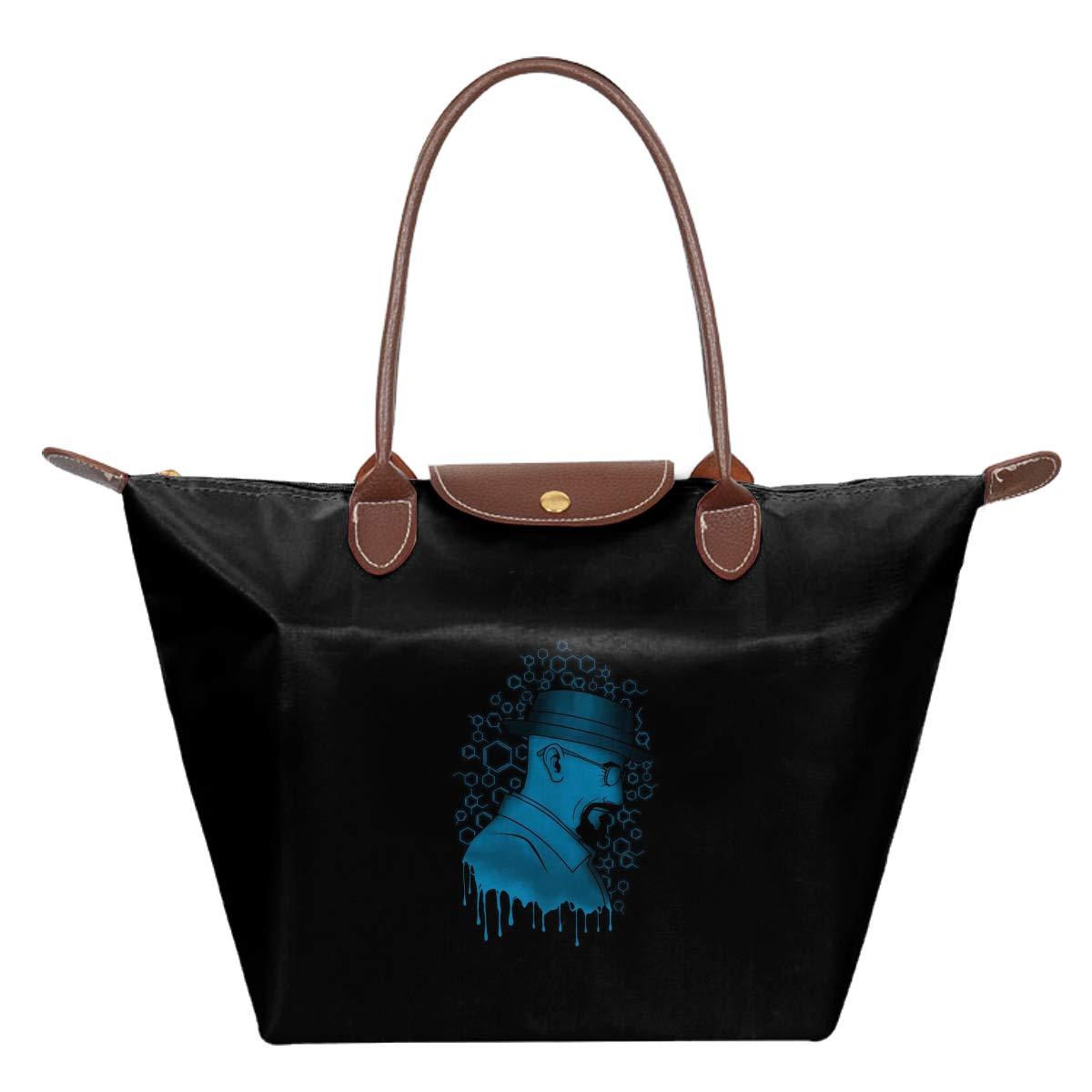 Crystal Chemist Breaking Bad Waterproof Leather Folded Messenger Nylon Bag Travel Tote Hopping Folding School Handbags