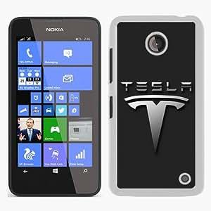 Great Quality Nokia Lumia 630 Case ,Tesla Logo White Nokia Lumia 630 Cover Case Hot Sale Phone Case Unique And Beatiful Designed