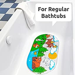 Baby Bath Mat Non Slip for Kids - Size 27\