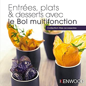 Kenwood - Libro de recetas de aperitivos,platos y postres.: Amazon.es: Grandes electrodomésticos