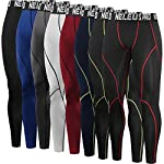 Neleus Men's Compression Pants Running Tights Sport Leggings