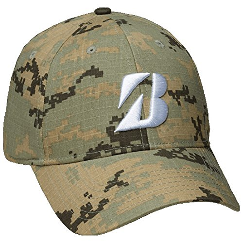 new-bridgestone-digital-camo-desert-green-adjustable-snapback-golf-hat-cap