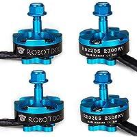 RobotDog 4pcs RD2205 2300KV 2500KV Racing Motor Alien Rooster ZMR250 Multirotor Quadcopter Motor (2300KV)
