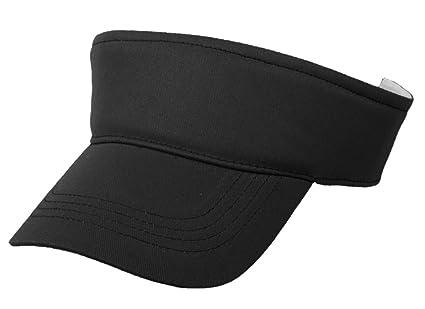dce671c335d Eforstore Children Deluxe Cotton Visor Topless Sun Hat Baseball Golf Caps