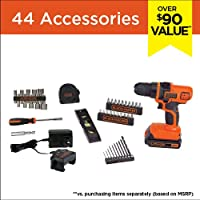 Black Decker Ldx50Pk Lithium Project Key Pieces