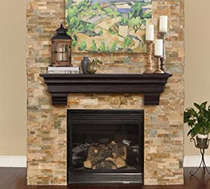 Fireplace Mantel DecorMount  Cherry ... & Amazon.com: Fireplace Mantel DecorMount  Cherry 60\