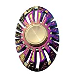 Fidget Spinner Metal Colorful SWINCHO Iridescent Oval Hand Spinner for Children Adult Hot New