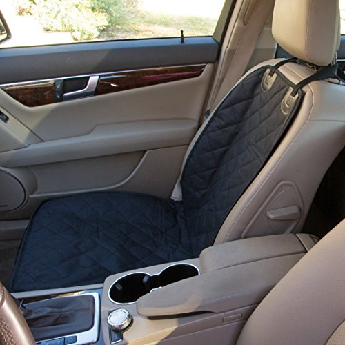 pet dog car seat cover black heavy duty 600d oxford waterproof scratch proof nonslip quilted. Black Bedroom Furniture Sets. Home Design Ideas
