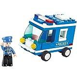 Sluban Lego Police Car, Multi Colour