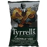Crisps Tyrrells Crinkly Veg With Rosemary & Garlic 6X150G