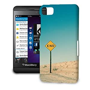 Phone Case For BlackBerry Z10 - END Road Sign Hard Premium